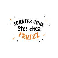 Logo Souriez vous êtes chez Fruizz agence de communication