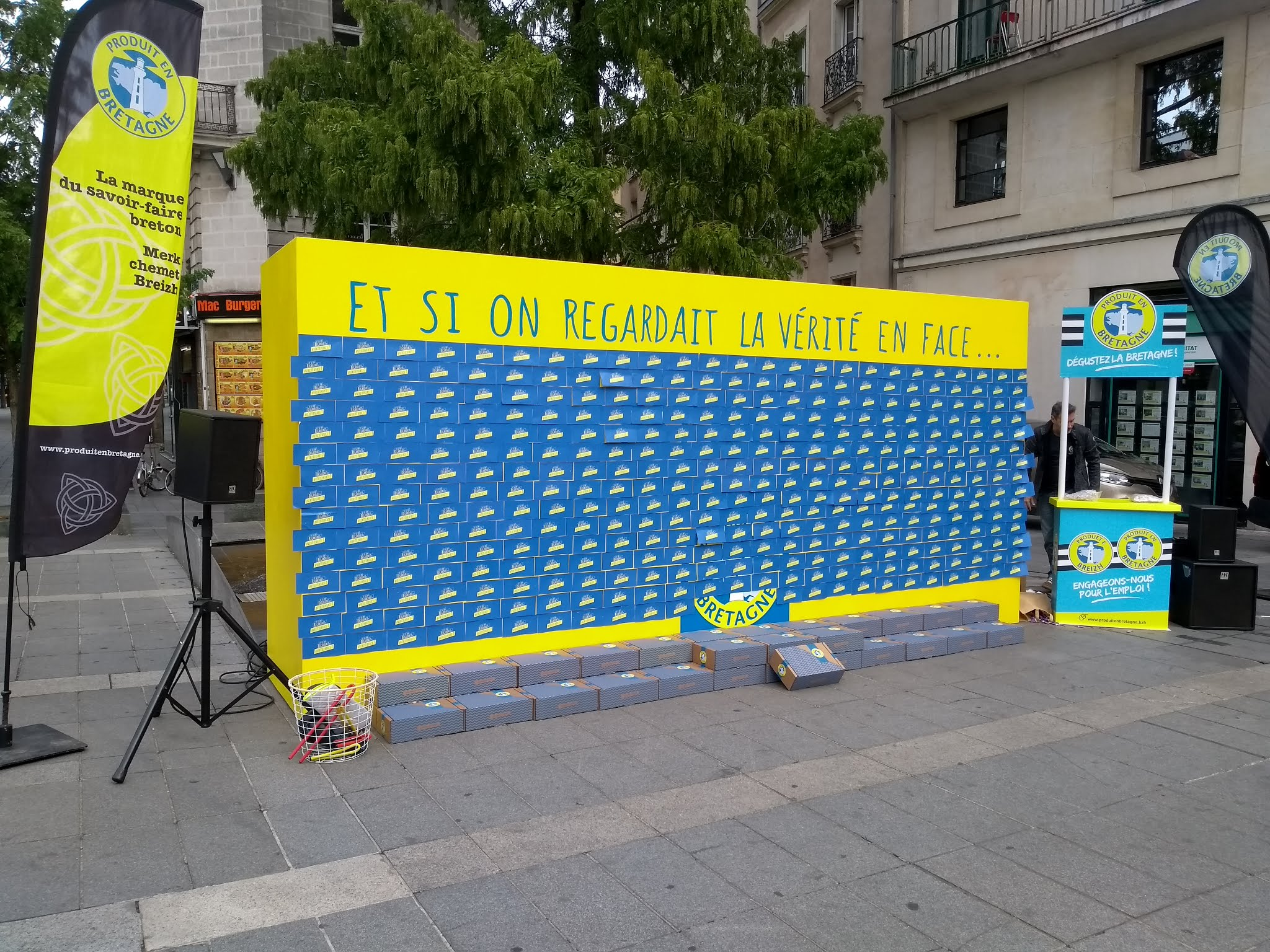 produit en bretagne street marketing nantes