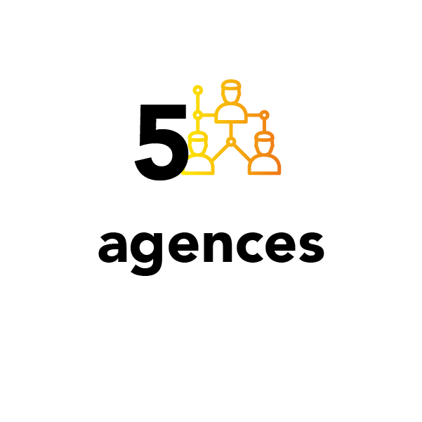5 agences