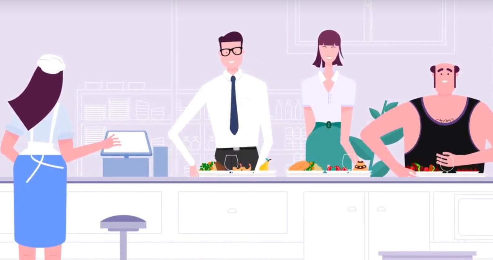 Envie d'une vidéo courte et punchy ? Le design motion est top pour cela ! Nous donnons vie à nos meilleures illustrations pour créer des vidéos super ludiques mais tout en étant instructives !