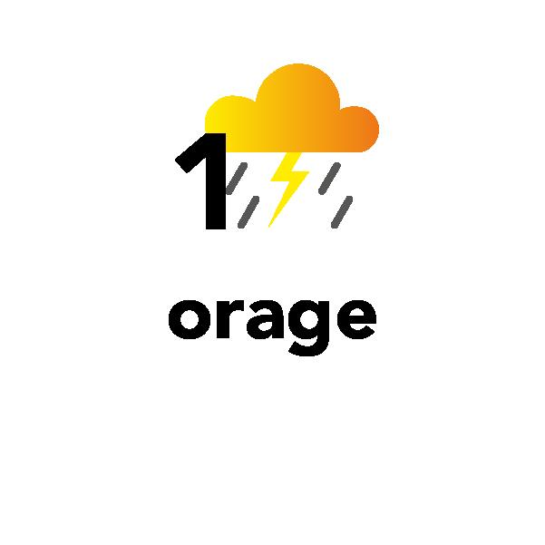 1 orage
