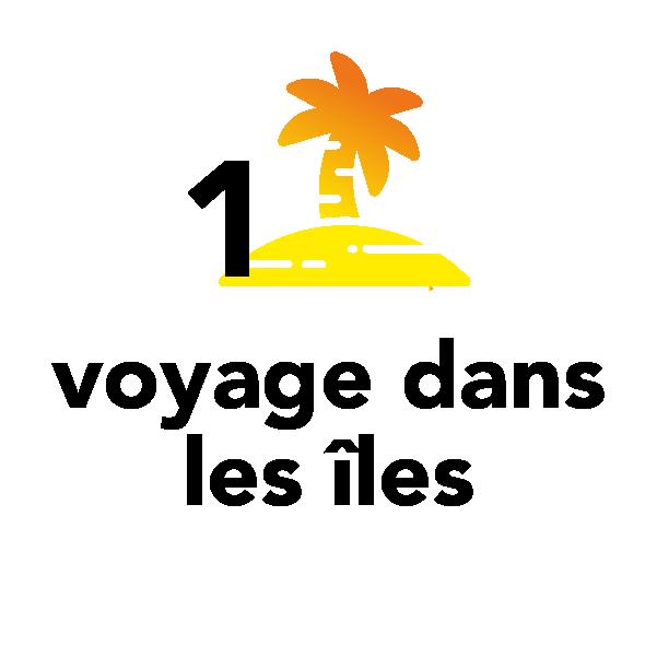 1 voyage dans les îles