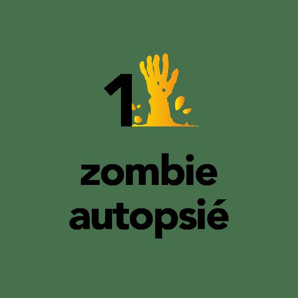 1 zombie autopsié