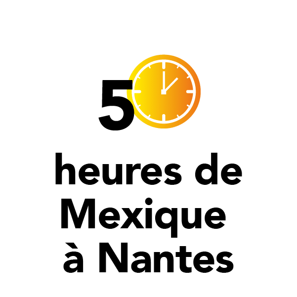 5 heures de Mexique à Nantes