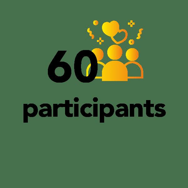 60 participants
