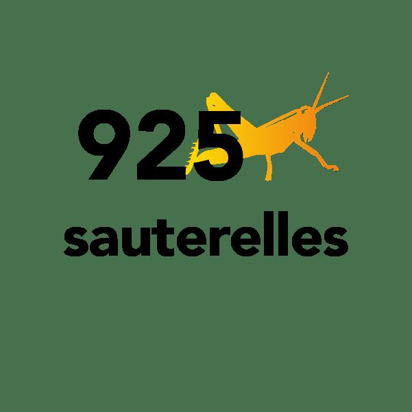 925 sauterelles