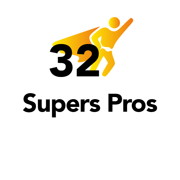 32 supers pros