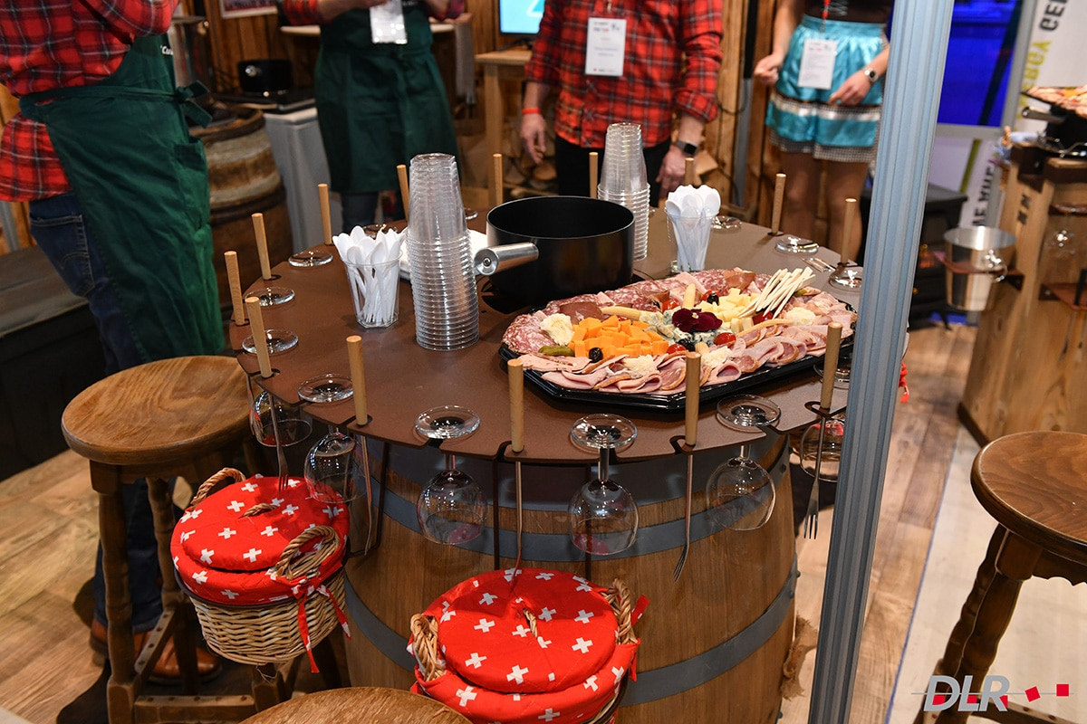 Salon DLR - Stand Chrono flex - La fondue est prête