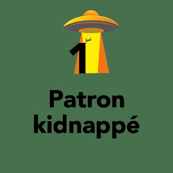 1 patron kidnappé
