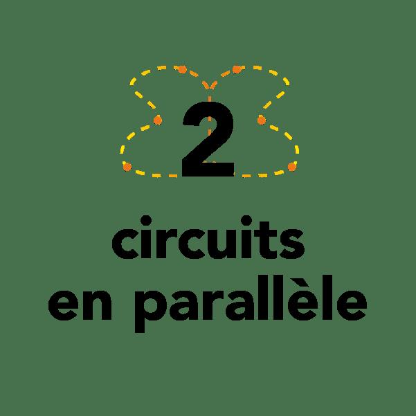 2 circuits en parallèles
