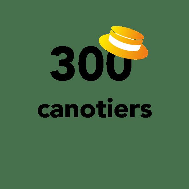 300 canotiers