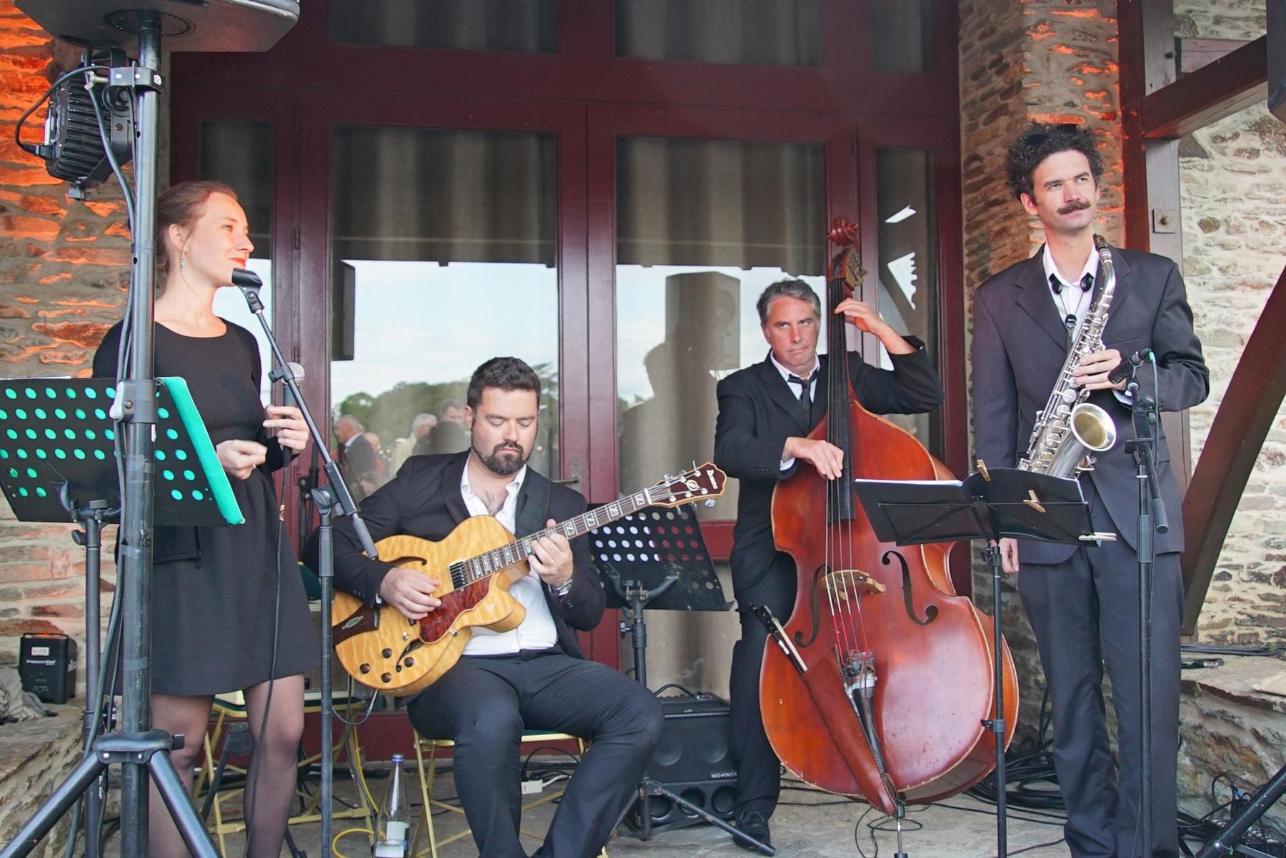 Concert jazz extérieur événementiel LBA