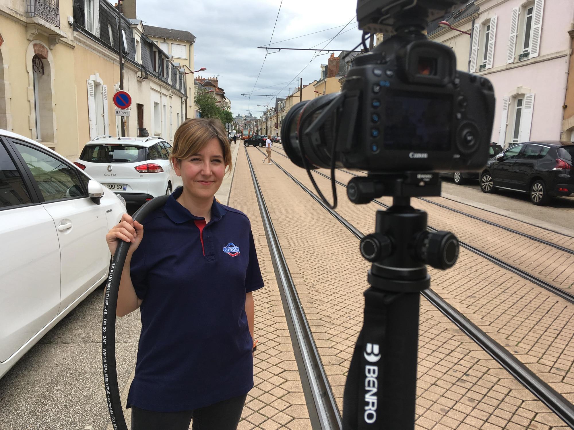 Vidéo, Recrutement caméra cachée au Mans