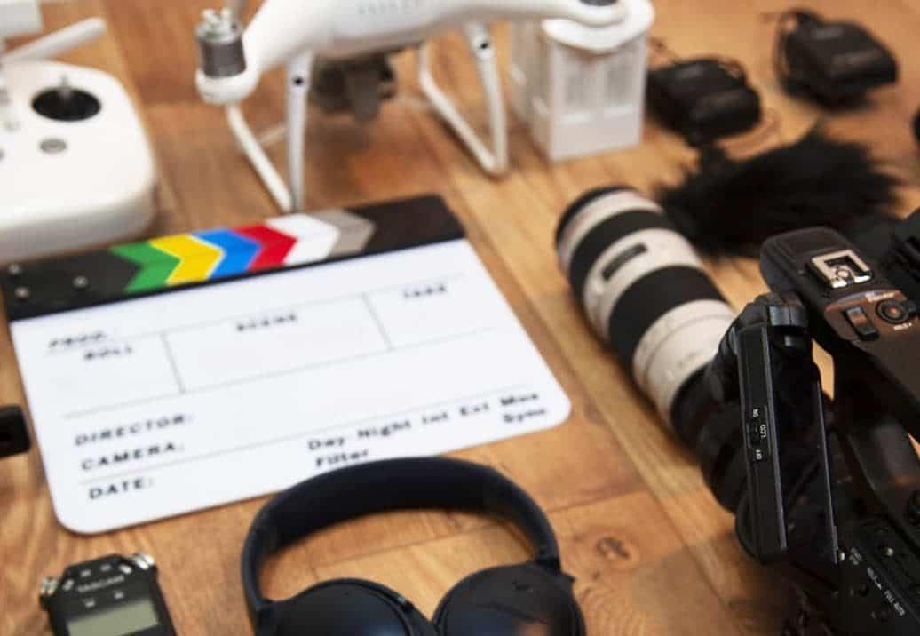 Matériels vidéo - caméra, drone, casque