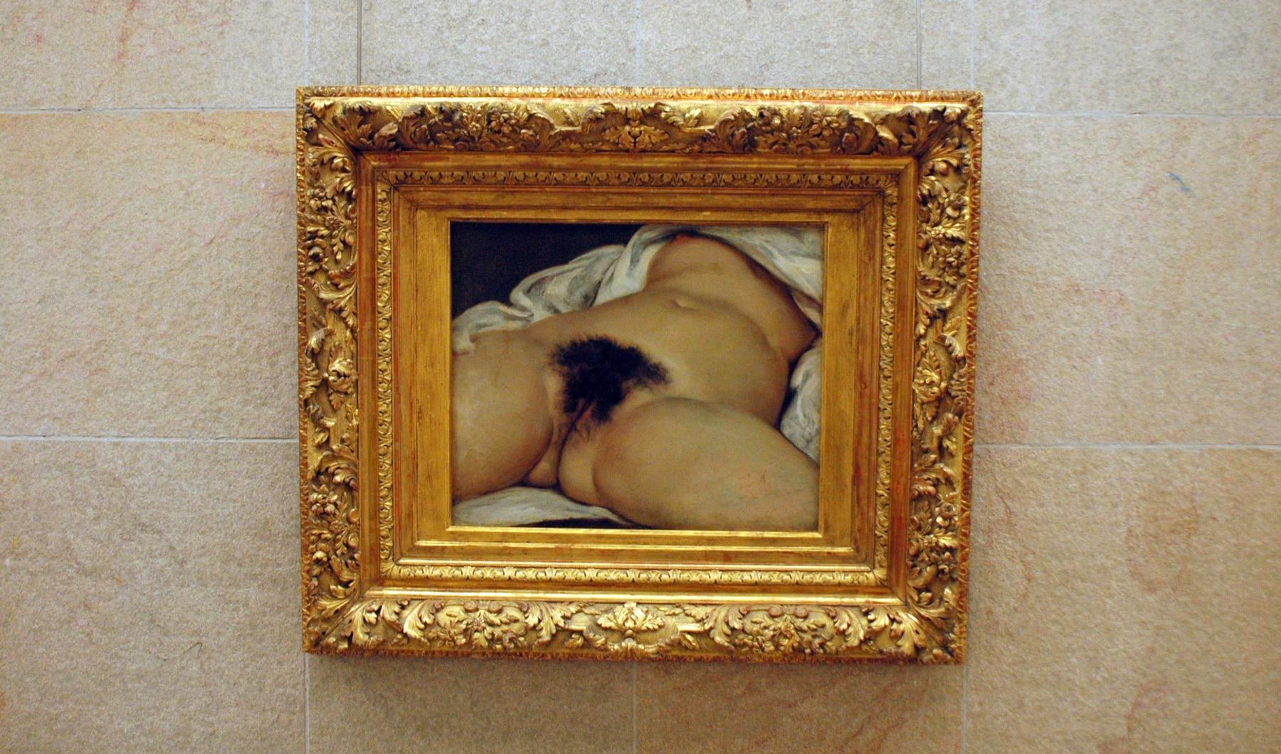 """Tableau - Courbet """"L'origine du Monde"""""""