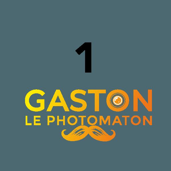 """1 photomaton, """"Gaston le photomaton"""""""
