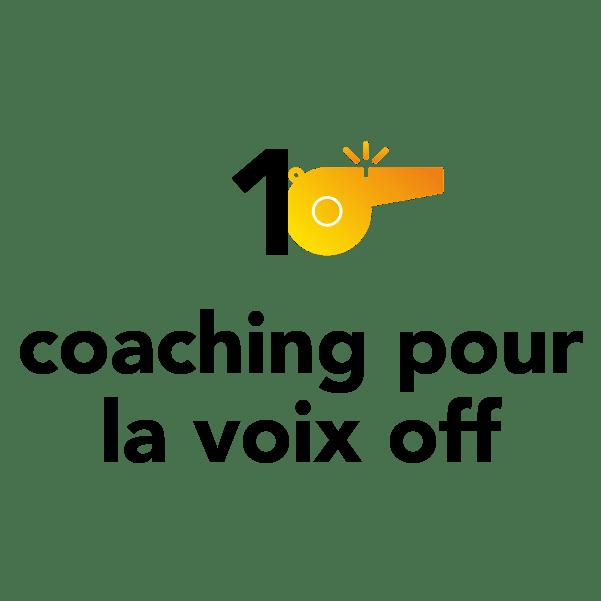 1 coaching pour la voix off