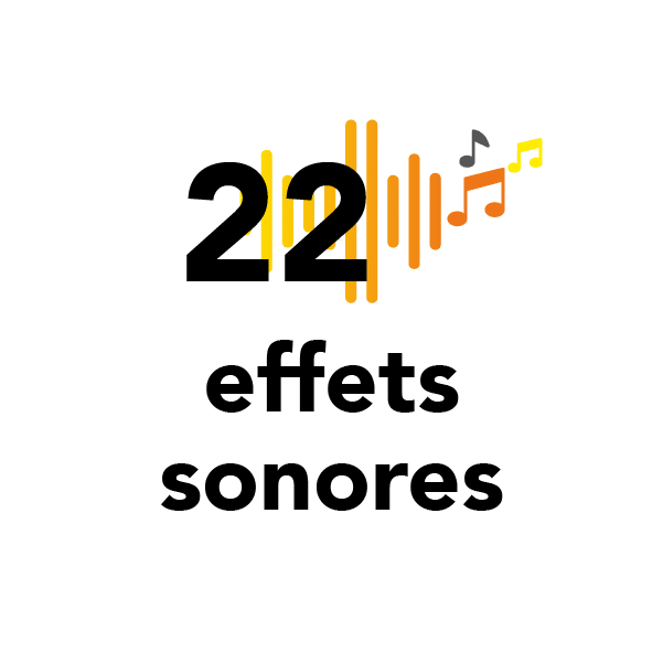 22 effets sonores