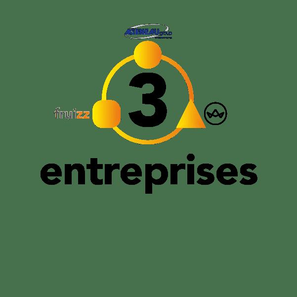 3 entreprises