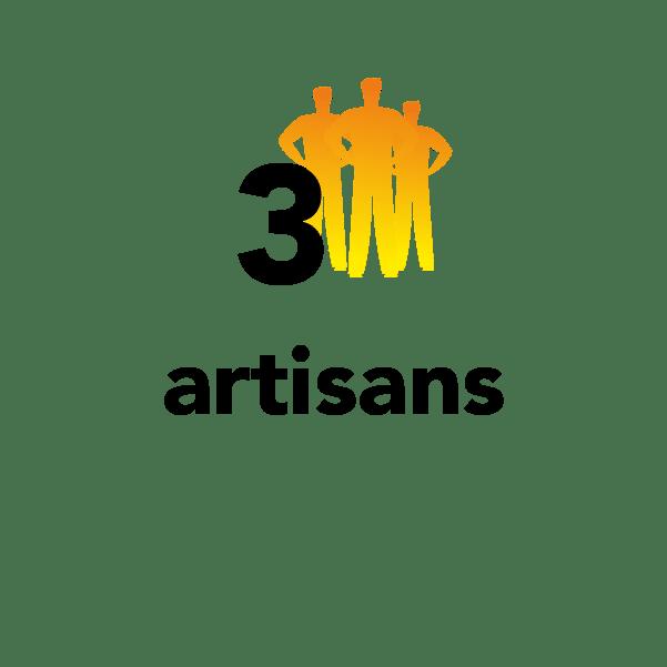 3 artisans